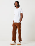Dickies 873 Cord Work Pant (Slim Straight) - Brown Duck