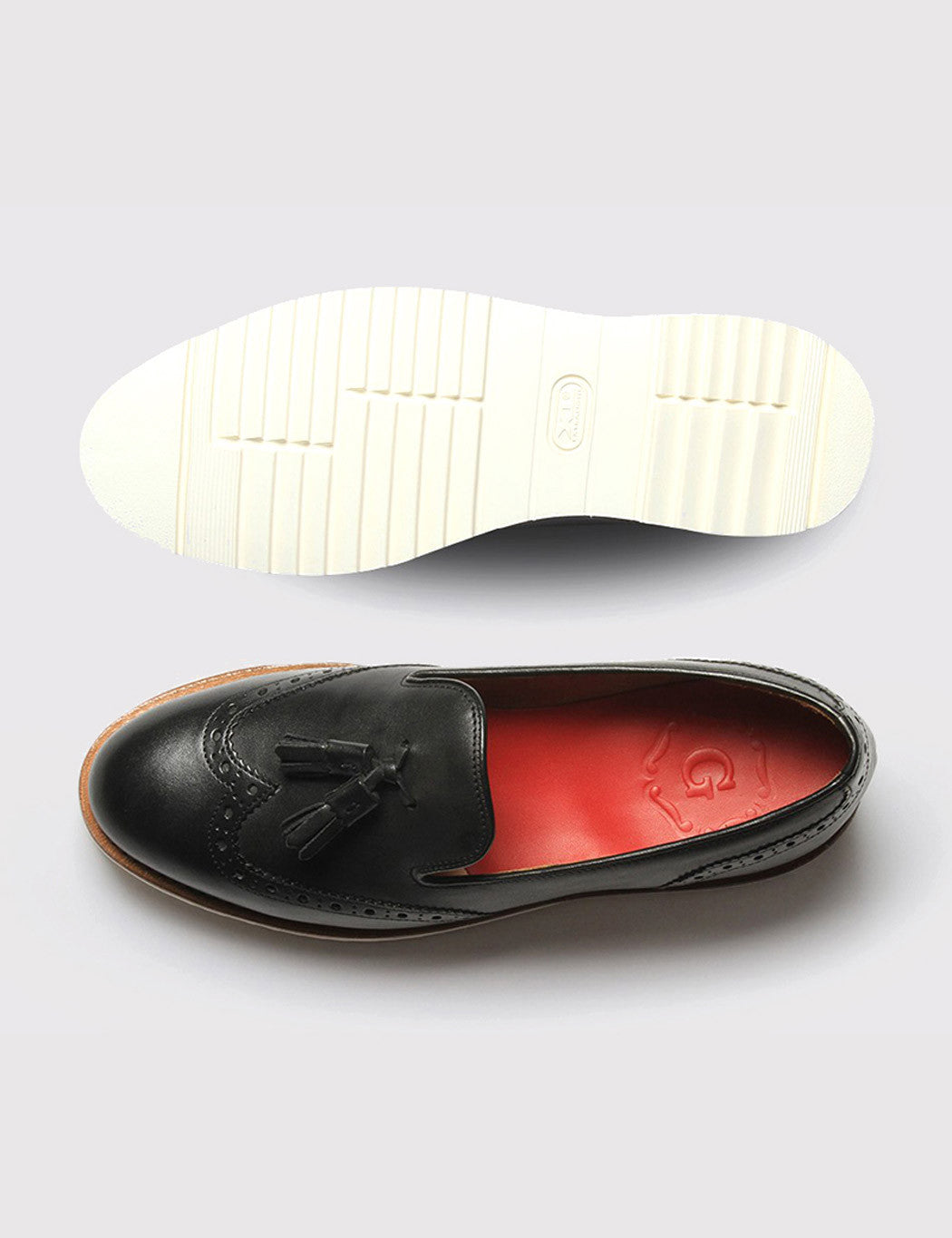 Womens Grenson Kat Shoe - Black Calf