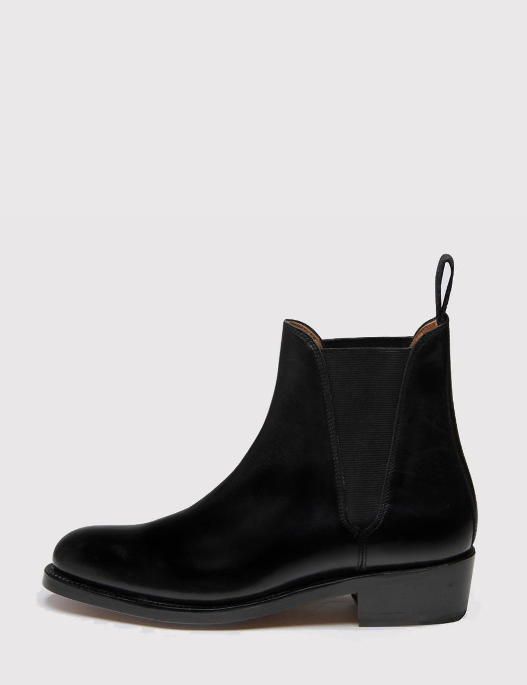Grenson Womens Nora Heeled Chelsea Boot - Black