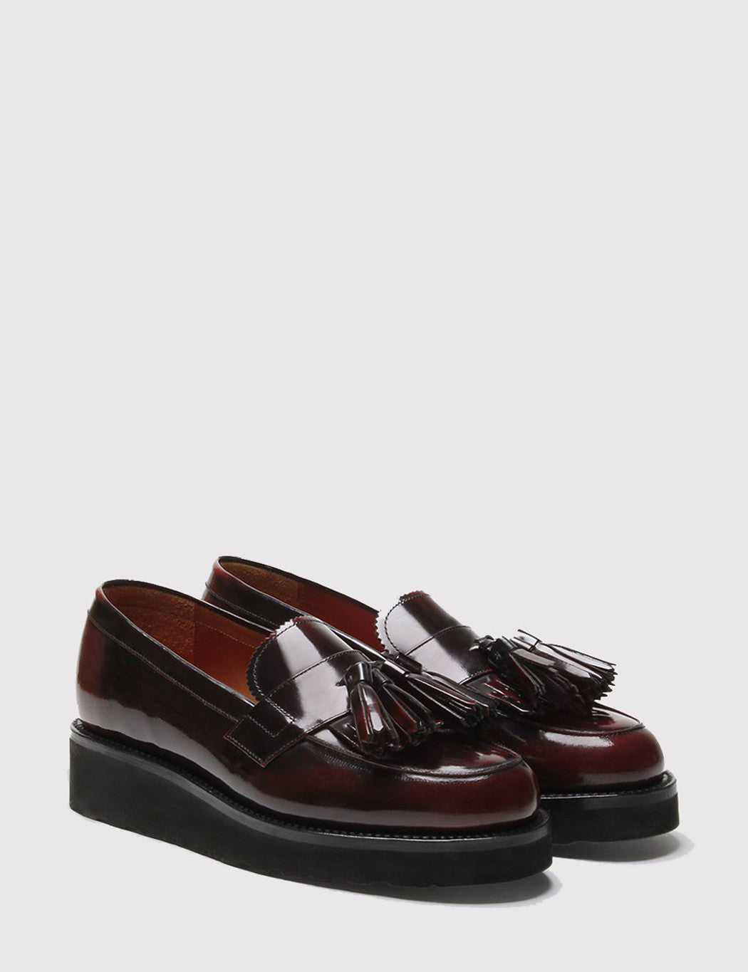 Grenson Womens Clara Loafer - Burgundy