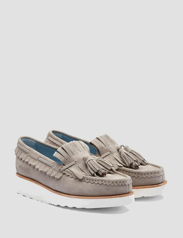 Grenson Womens Nikita Moccasin Loafer - Earth Brown