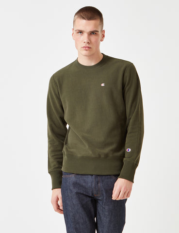 Champion Reverse Weave Sweatshirt - Green