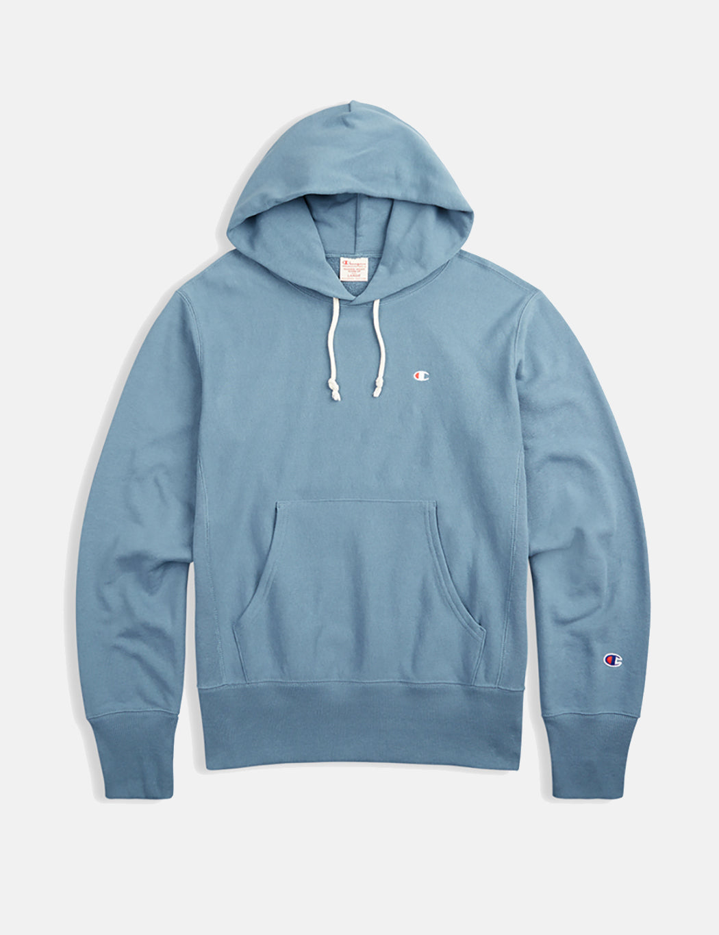 Champion Reverse Weave Hooded Sweatshirt - Petrol Blue