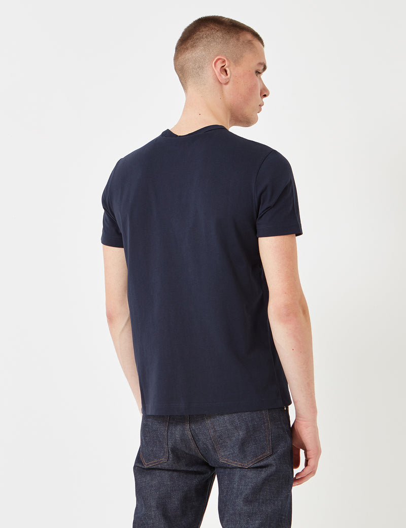 Champion Reverse Weave T-Shirt - Navy Blue