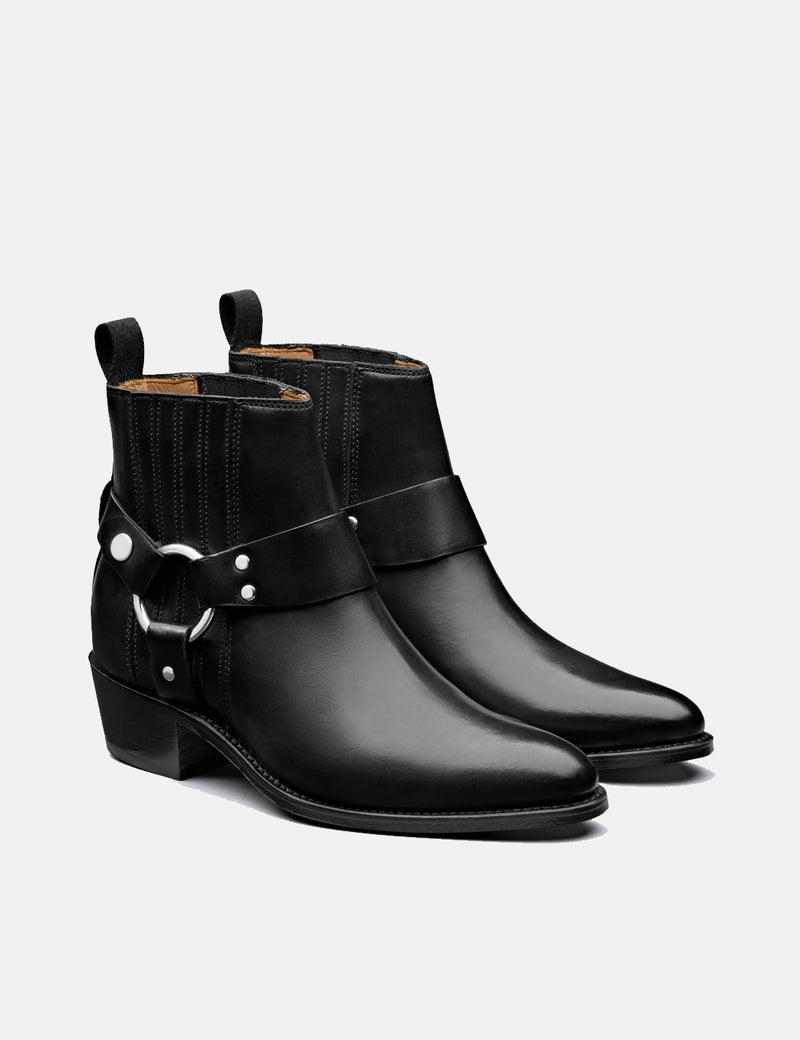 Womens Grenson Marley Boot (Leather) - Black