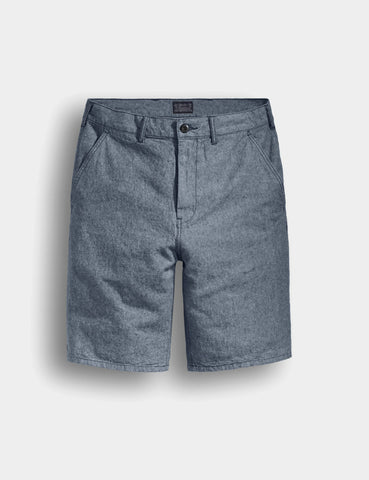 Levis Chino Shorts (Straight) - Light Blue Chambray