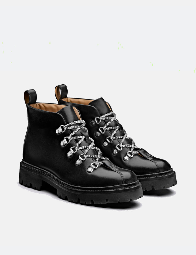 Womens Grenson Bridget Boot (Colorado Leather) - Black