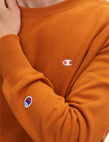 Champion Reverse Weave Sweatshirt - Brown