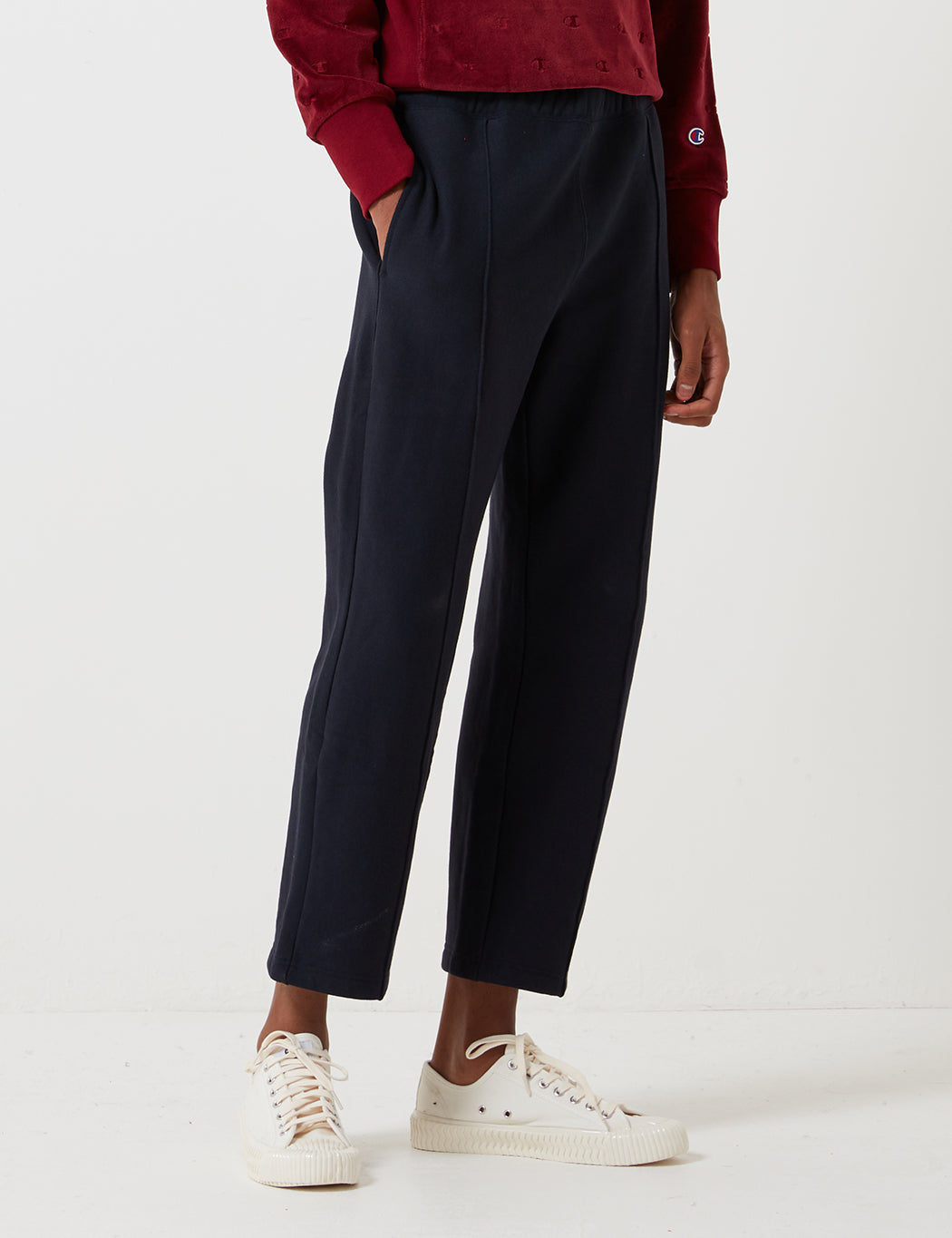 Champion Straight Hem Pant - Navy Blue
