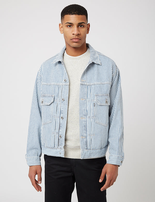 Levis Made & Crafted Oversized Type II Trucker Jacket - Radar/Multi