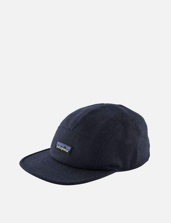 Patagonia Recycled Wool Cap - Classic Navy Blue