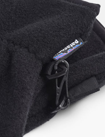 Patagonia Synch Gloves (Fleece) - Black