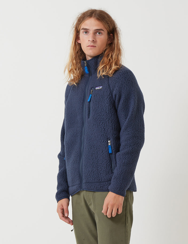 Patagonia Retro Pile Jacket - New Navy Blue