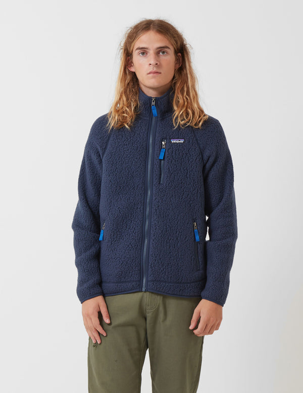 Veste Patagonia Retro Pile - New Navy Blue