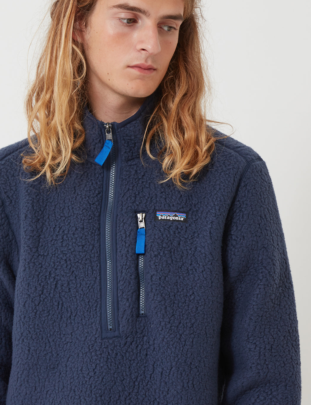 outlet store the best attitude cute Patagonia Retro Pile Fleece Pullover - New Navy Blue | URBAN EXCESS.
