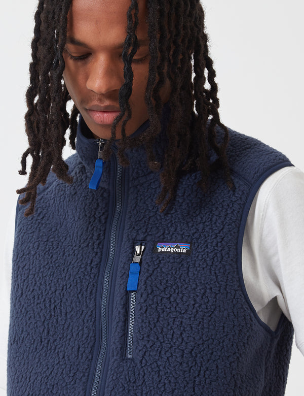 Patagonia Retro Pile Vest - New Navy Blue
