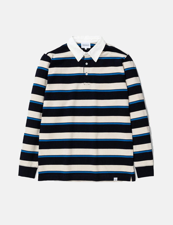 Norse Projects Ruben Compact Cotton - Himmel Blue