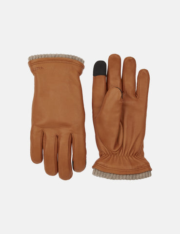 Hestra John Gloves (Hairsheep Leather) - Cork