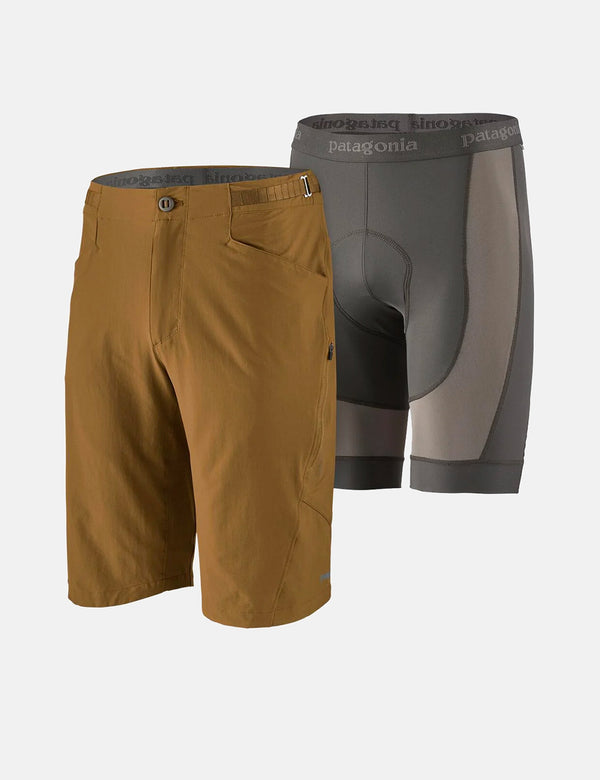 "Patagonia Dirt Craft Bike Shorts (11½"" inseam) - Coriander Brown"
