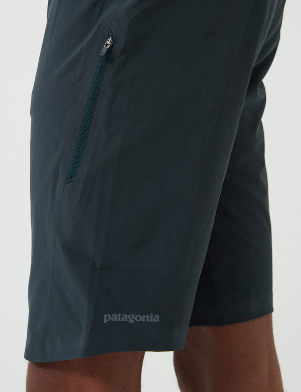 Patagonia Dirt Roamer Bike Shorts - Carbon Green