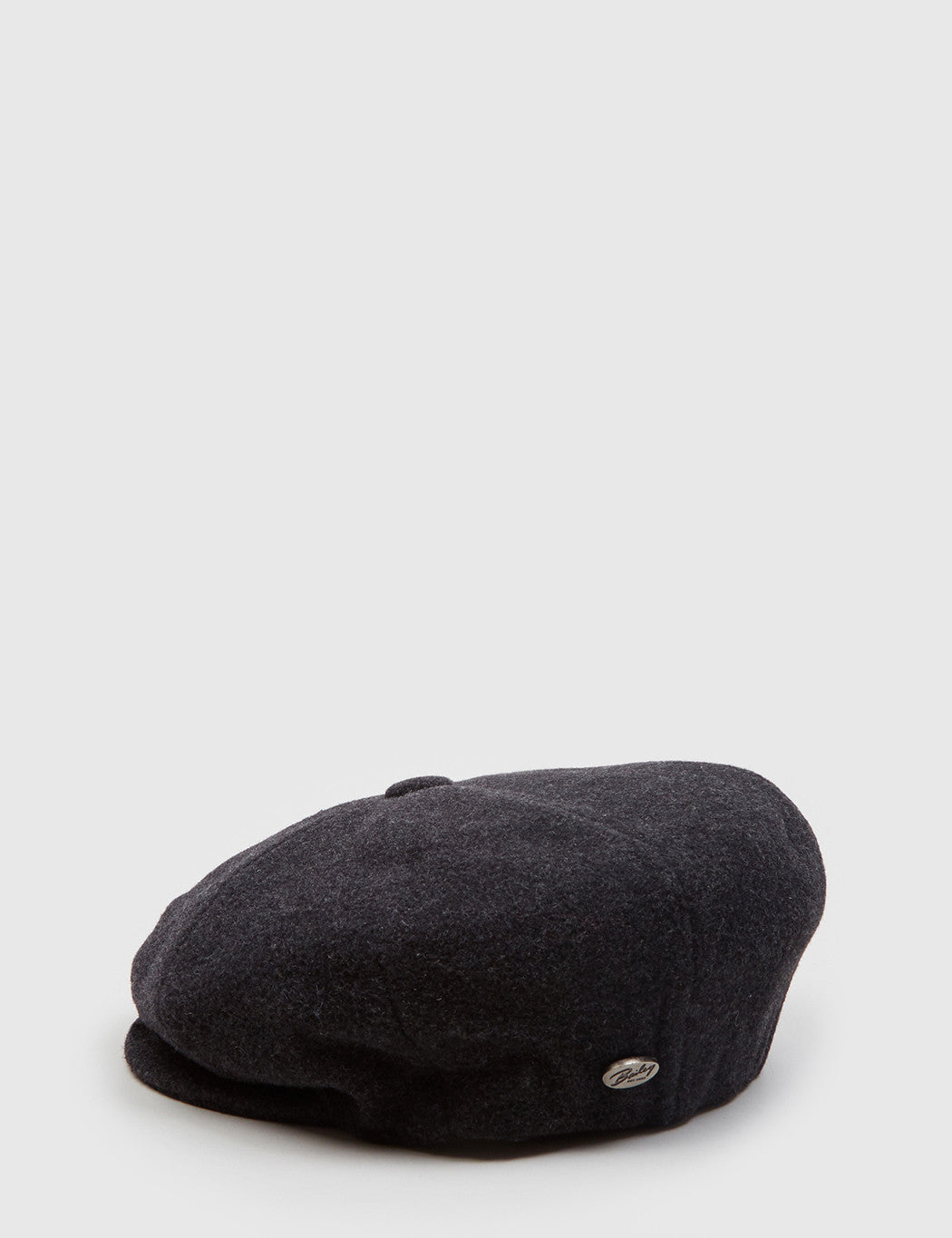 Bailey Galvin Wool Newsboy Cap - Grey