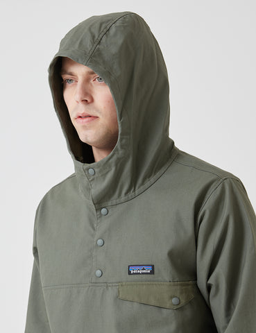 Patagonia Maple Grove Canvas Jacket - Industrial Green