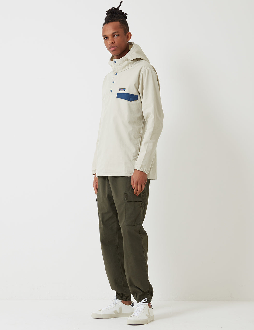 Patagonia Maple Grove Canvas Jacket - Pelican Beige