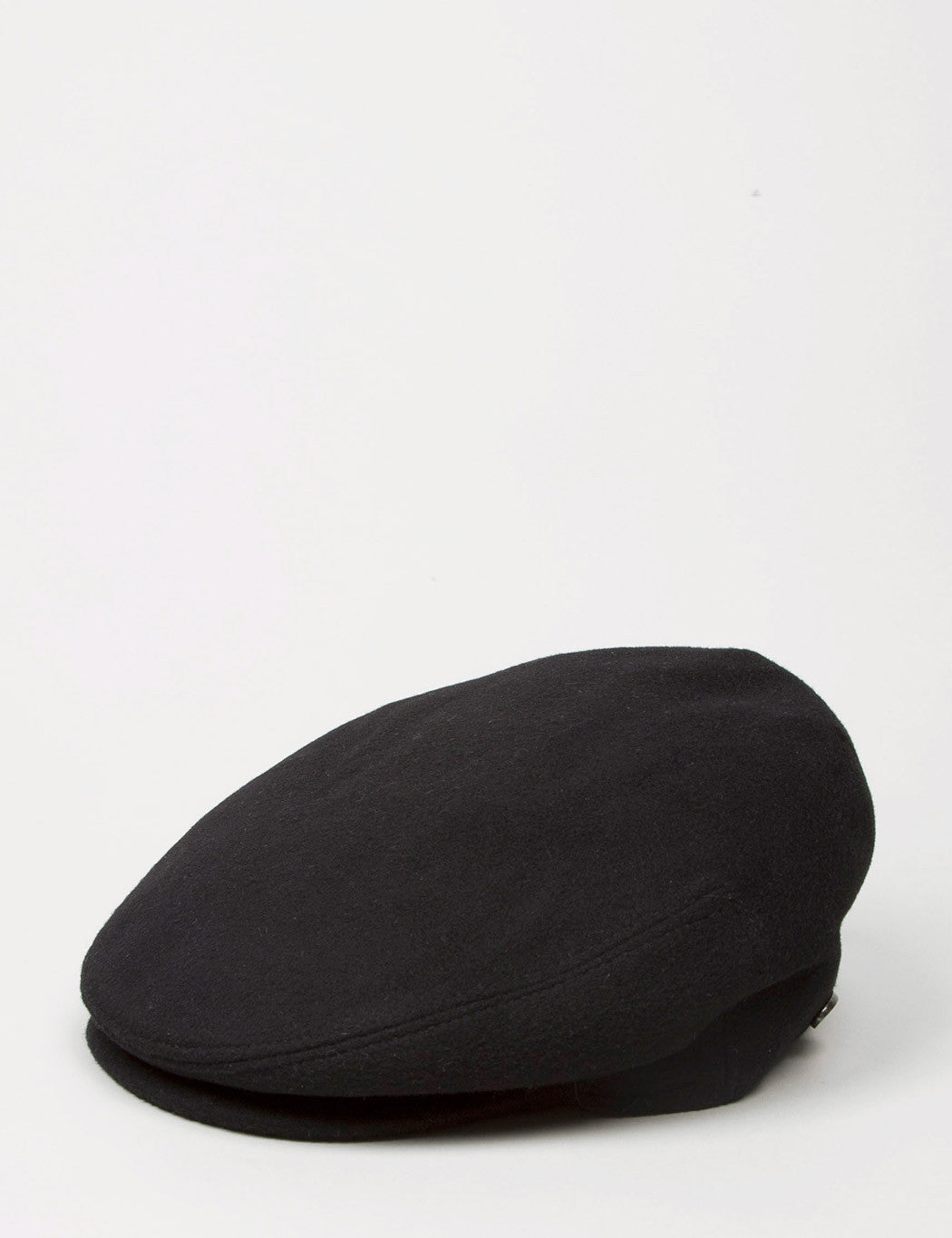 Bailey Cole Cashmere Flat Cap - Black