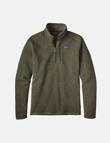 Patagonia M's Better Zip Sweatshirt - Industrial Green