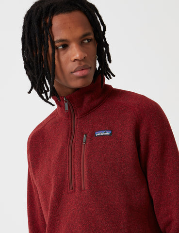 Patagonia M's Better Zip Sweatshirt - Oxide Red