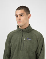 Patagonia Better Sweater 1/4 Zip Fleece - Industrial Green