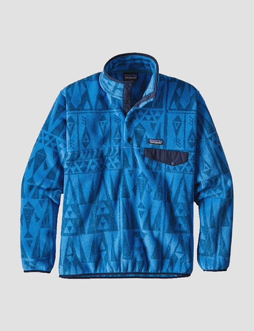 Patagonia Synchilla Snap-T Pullover - Tribal Blue