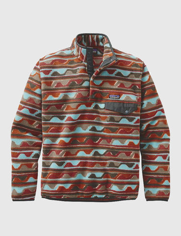 Patagonia Synchilla Snap-T Pullover - Cinder Red