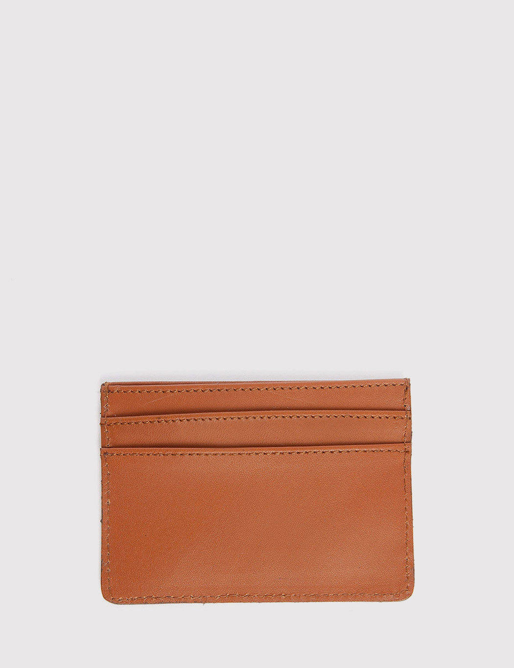 Sandqvist Buck Card Holder - Cognac Brown