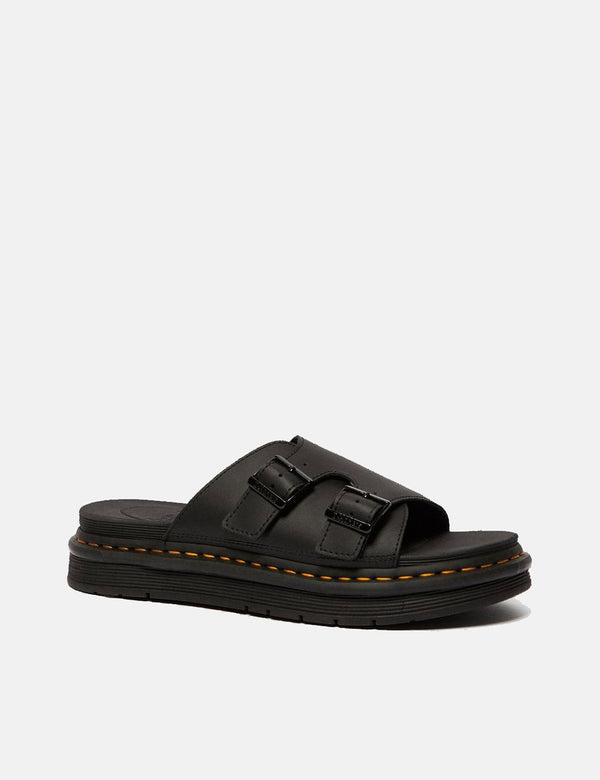 Dr Martens Dax Slip On Sandals (25764001) - Black Hydro