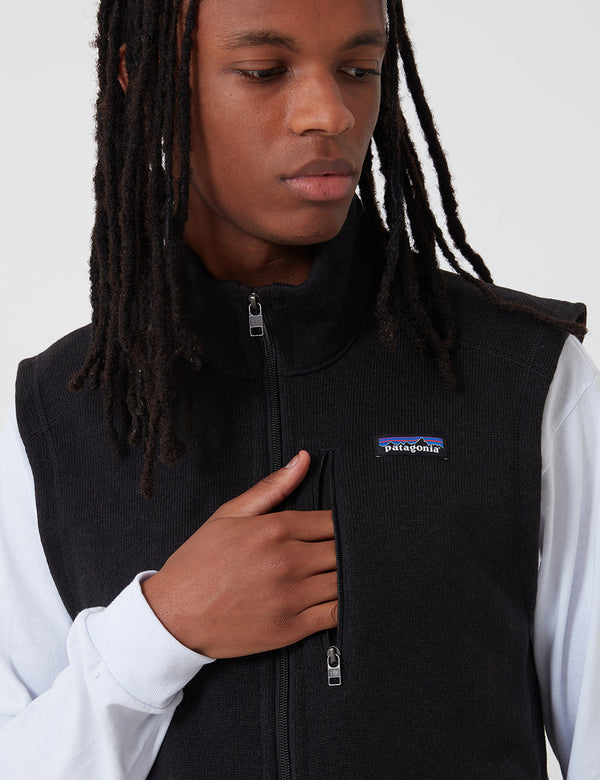Patagonia Better Sweater Vest - Black
