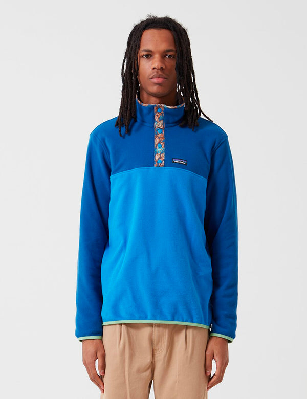 Patagonia Micro D Snap-T Pullover - Bayou Blue