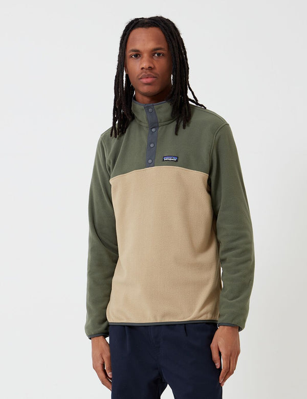 Patagonia Micro D Snap-T Pullover - Classic Tan
