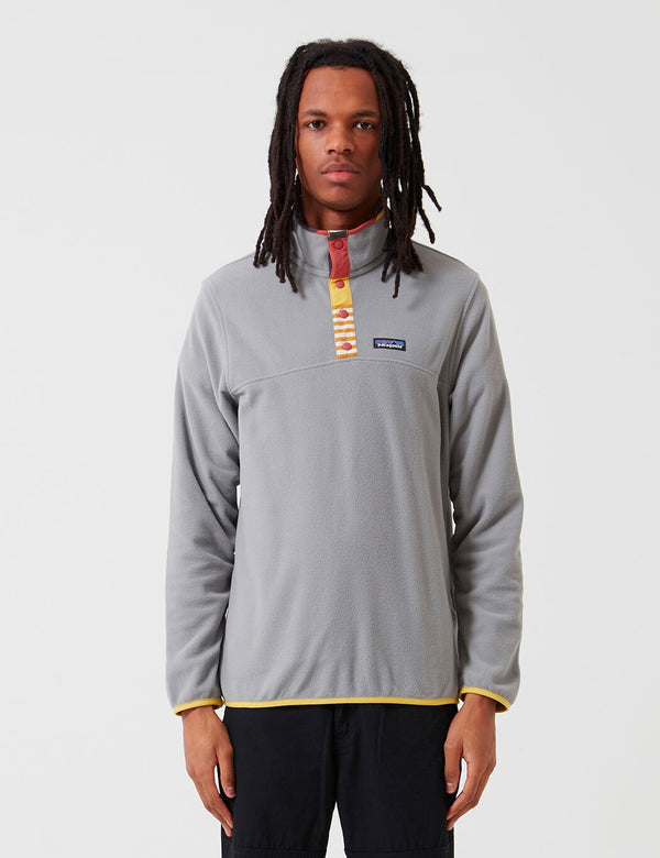 Patagonia Micro D Snap-T Pullover - Feather Grey