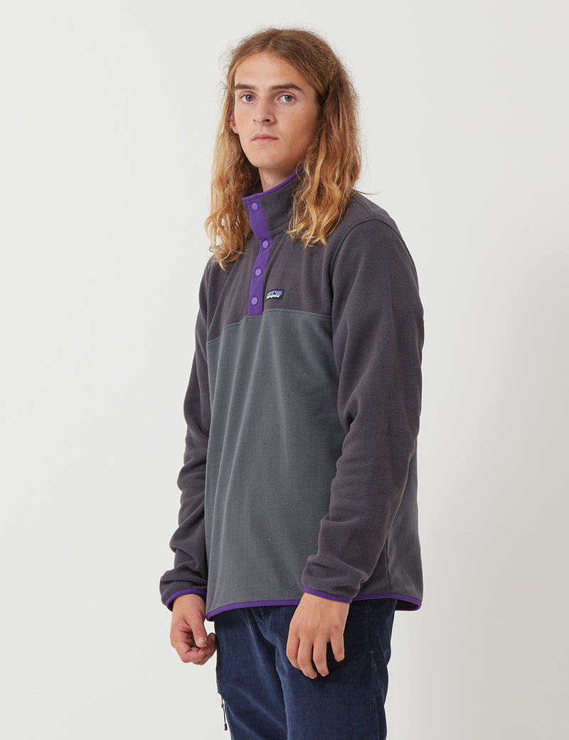 Patagonia Micro D Snap-T Pullover - Forge Grey