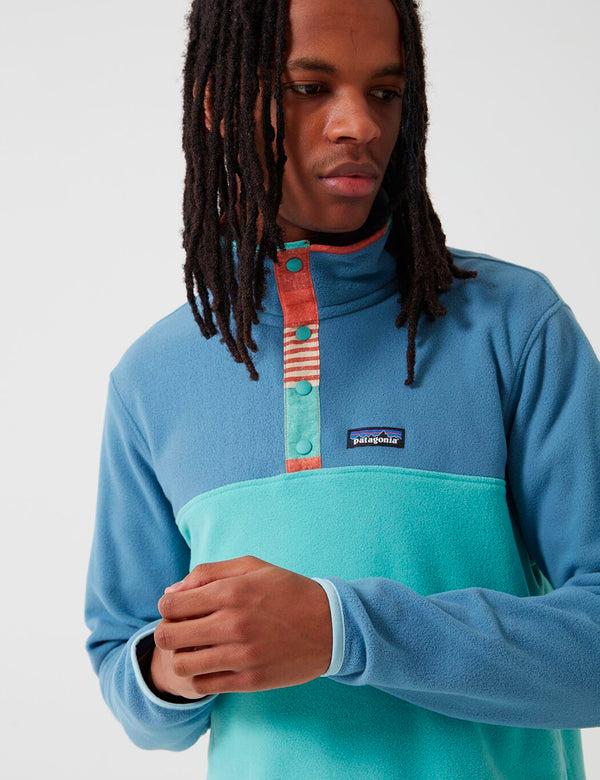 Patagonia Micro D Snap-T Pullover - Light Beryl Green