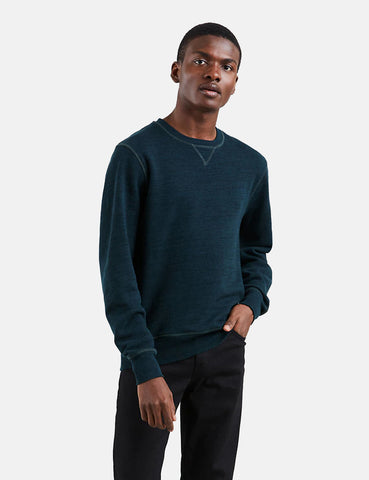 Levis Made & Crafted Crewneck Sweatshirt - Blueshade Heather