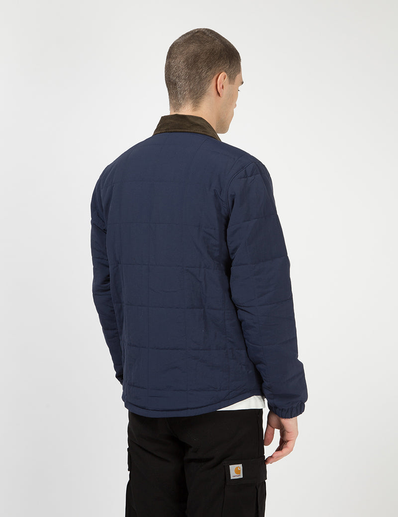 Patagonia Isthmus Quilted Shirt Jacket - New Navy Blue