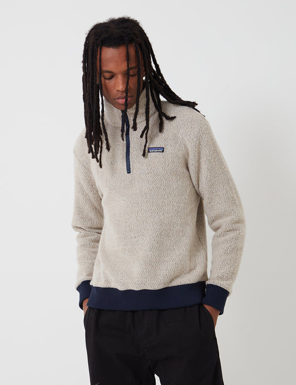 Patagonia Woolyester Fleece P/O - Oatmeal Heather