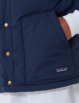 Patagonia Reversible Bivy Down Vest - New Navy Blue