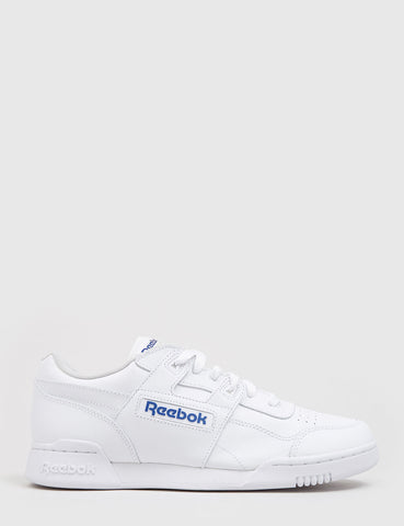 Reebok Workout Plus (2759) - White/Royal Blue