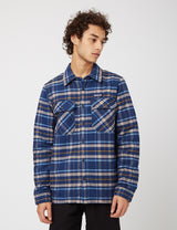 Patagonia Insulated Fjord Flannel Jacket - Independence New Navy