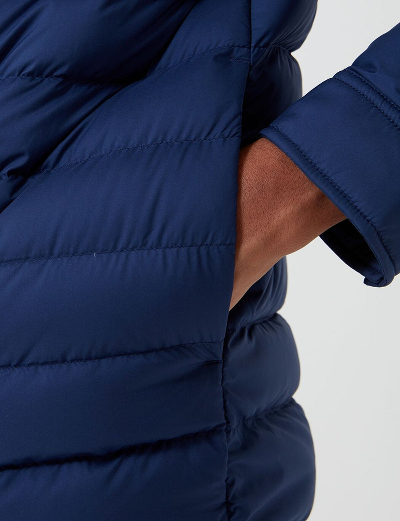Patagonia Silent Down Shirt Jacket - Classic Navy Blue
