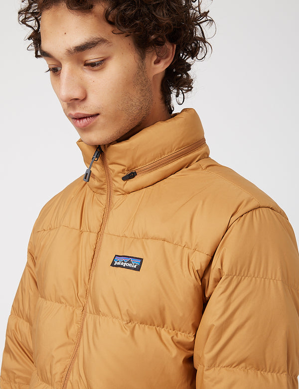 Patagonia Silent Down Jacket - Nest Brown