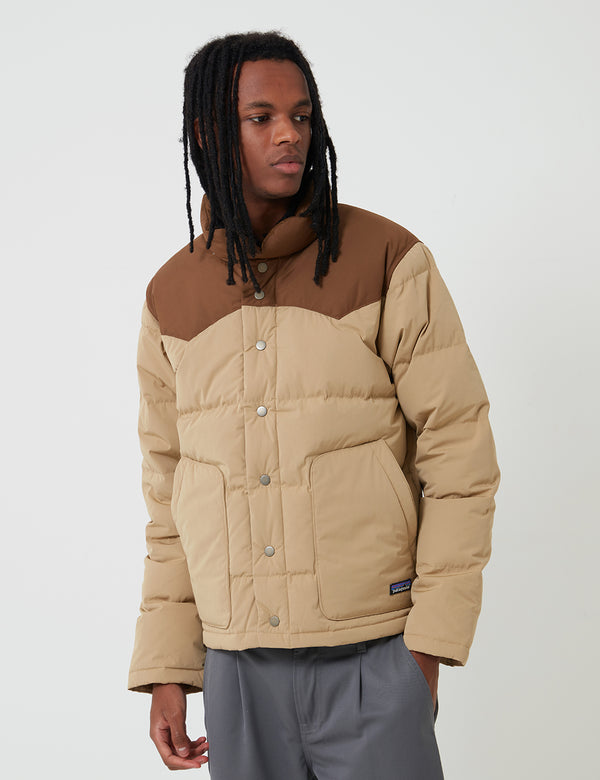 Patagonia Bivy Down Jacket - Classic Tan